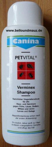Canina Petvital Verminex Shampoo gegen Ungeziefer