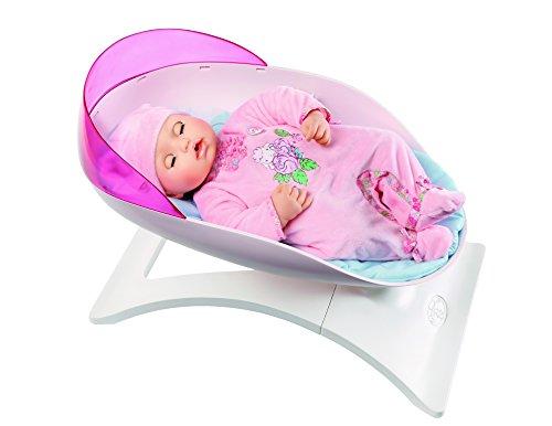 Baby Annabell, lettino a dondolo Transat Rocker, Berceau per bambole, fino a 46 cm, aspetto design, giocattolo per bambini dai 2 anni