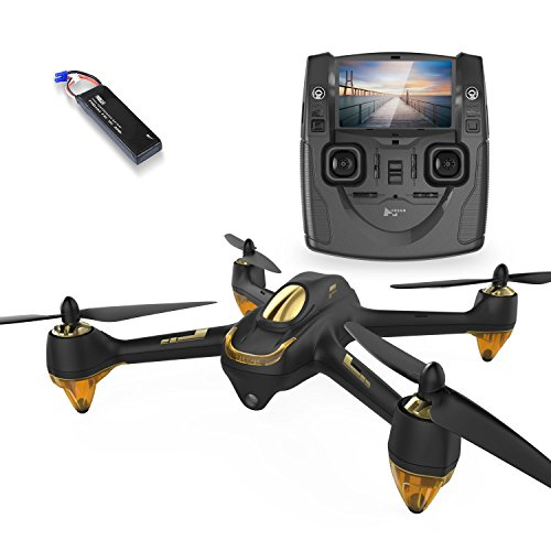 HUBSAN H501SS X4 Drone GPS 4 Channel Altitude Mode 5.8GHz Transmitter 6 Axis Gyro 1080P FPV Brushless Quadcopter Mode 2 RTF (Black)