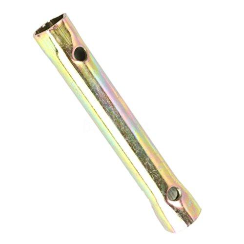 Llave de bujía profesional de motocicleta duradera de 13 cm, 16/18 mm, herramienta de reparación de vehículos portátil
