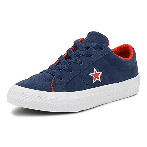 Converse One Star Blau (Navy) Veloursleder 28½ EU