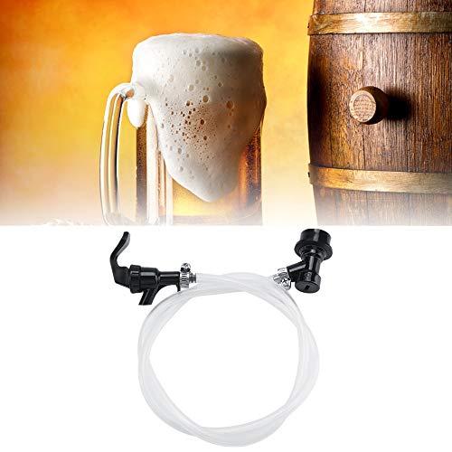 Party Biertap, 100cm Bier Slang met Party Picknicktap en Ball Lock Ontkoppel voor Keg Plastic Kraan Vloeistofdispenser thuisbrouwen