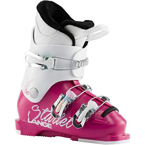 Lange Starlet 50 Skischuhe für Kinder, Magenta Sparkle Wht, 19.5 Mondopoint (cm)