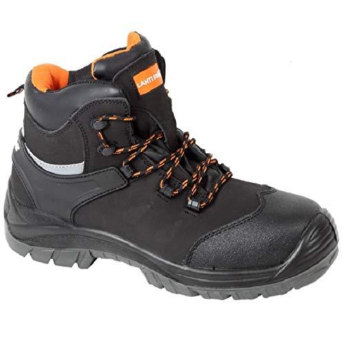 K&G Arbeitsstiefel LP L30118 Kunstoffkappe Arbeitsschuhe Sicherheitschuhe Metallfrei Schuhe Gartenschuhe Damenschuhe Herrenschuhe (42 EU)