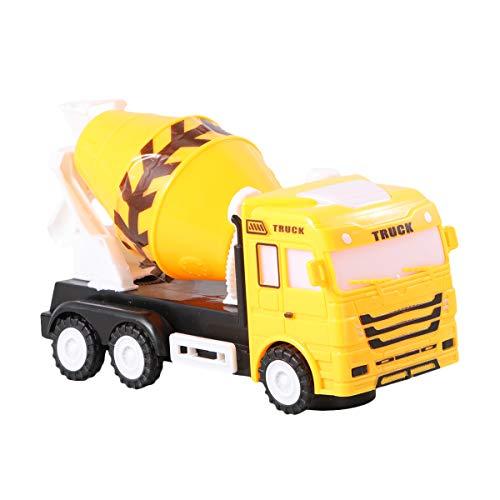 STOBOK Modelo de camión de hormigón eléctrico Juguetes de luz Musical Juguete...