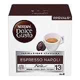 Nescaf Dolce Gusto Espresso Napoli, Caff Espresso, 6 Confezioni da 16 Capsule, 96 Capsule