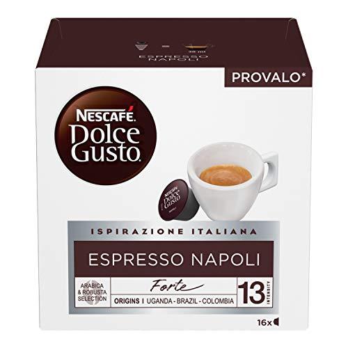 Nescafé Dolce Gusto Espresso Napoli Caffè, 6 Confezioni da 16 Capsule (96 Capsule)