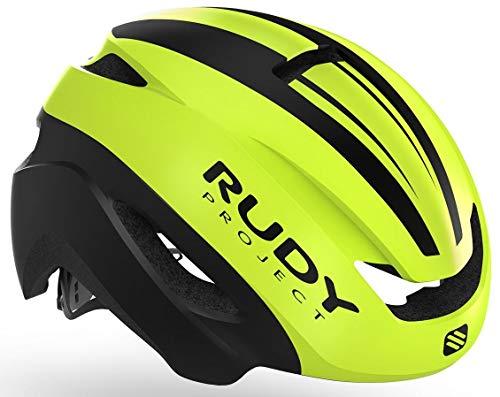 Rudy Project Volantis - Casco de Bicicleta - Amarillo/Negro Contorno de la...
