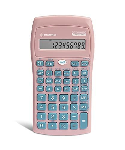 Osama - Calculadora científica Becolor Rosa...