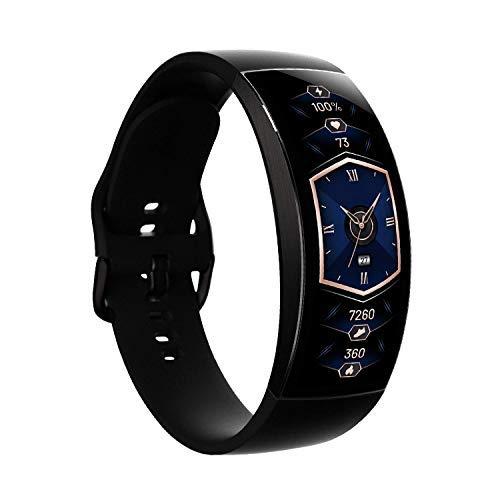 Amazfit X Smartwatch con Schermo Curvo Orologio Fiteness Touchscreen AMOLED HD da 2,07 Pollici con SpO2, Rilevamento Automatico dello Sport, Contapassi per Cellulare iOS Android