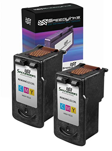 Speedy Inks Remanufactured Ink Cartridge Replacement for Canon CL-211XL High-Yield (Color, 2-Pack)