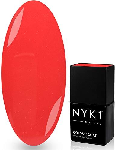 Esmalte para uñas Nailac, Lou Lou, profesional, en gel, 10ml, secado con luz led o ultravioleta, de la marca NYK1, más de 100colores a elegir