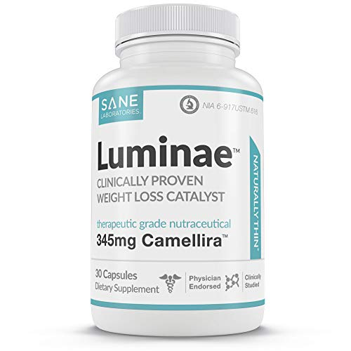 Luminae Metabolism Booster for Weight Loss - Healthy Supplement Pills with Green Tea Leaf Extract - Lower Your Set-Point Weight Faster
