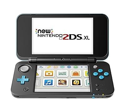 Nintendo New 2DS XL - Black + Turquoise