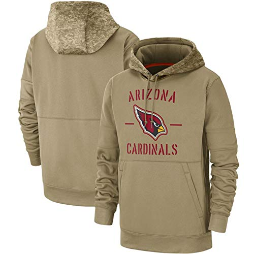 TTH-13 NFL Hoodie Arizona Cardinals Rugby-Trikots Tribute Version Der Pullover-Langärmlige Sweatshirt Fitness-Bekleidung Freizeithemd Training Kleidung,L:170~175cm