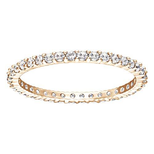 SWAROVSKI Damen-Ringe Edelstahl Kristall '- Ringgröße 52 5095328