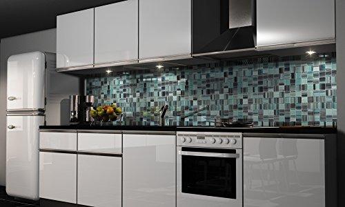 """Küchenrückwand Folie selbstklebend """"Mosaik"""" Klebefolie Dekofolie Spritzschutz Küche verschiedene Größen"""