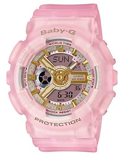 Casio Baby-G World Time Quartz Ba-110Sc-4A Ba110Sc-4A 100M Women's Watch