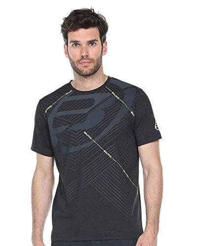 Bullpadel Camiseta Rasem, Hombre, Negro Vigore, 2XL