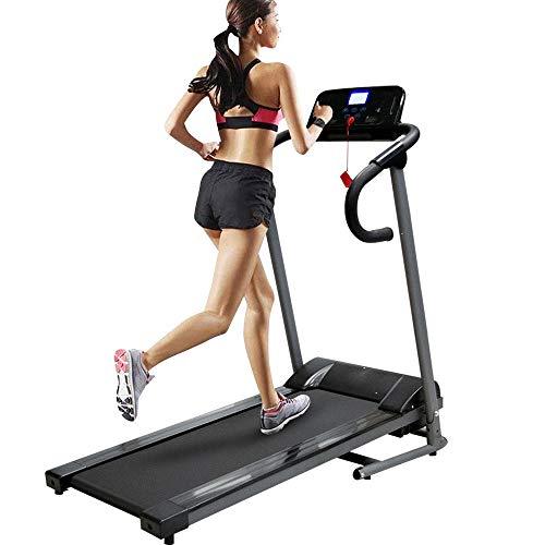 Bakaji Tapis Roulant Elettrico Pieghevole Allenamento Cardio Fitness Palestra Velocità 10 km/h 5 Programmi preimpostati Pannello di Controllo LCD con Casse MP3 Integrate Connessione Bluetooth USB