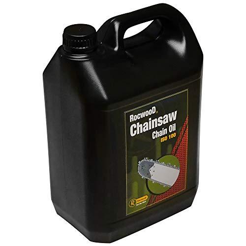 RocwooD - Aceite de Cadena de Sierra para Bomba de Aceite para Todas Las motosierras Husqvarna (5 L)