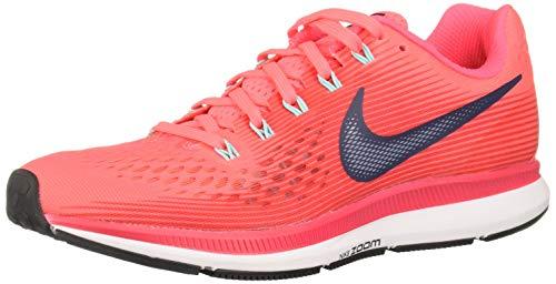 Nike Air Zoom Pegasus 34 - Scarpe da corsa da donna, Rosso (Colore: rosso), 36 EU