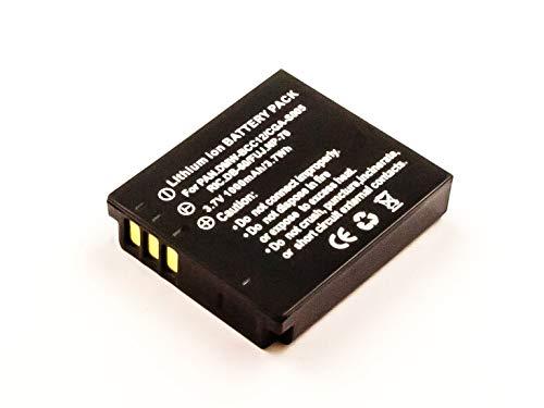 eVendix Akku kompatibel mit Panasonic LUMIX DMC-FX100 | 3.7 Volt | 1000 mAh | 3.7 Wh Li-Ion Akku