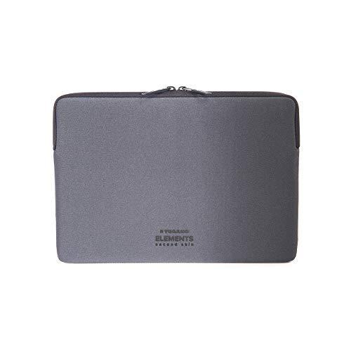 Tucano Second Skin New Elements Neopren Hulle fur MacBook 305 cm 12 Zoll grau