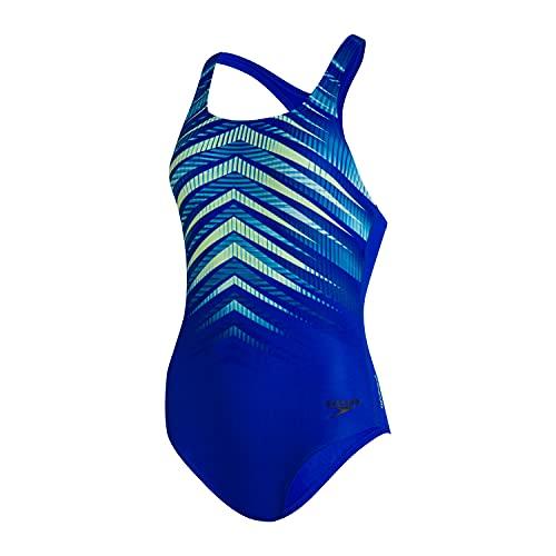 Speedo Digital Placement Medalist Costume da Bagno da Donna