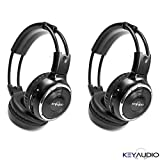 Best Infrared Headphones - Pair of Two Channel Folding Adjustable Universal Rear Review