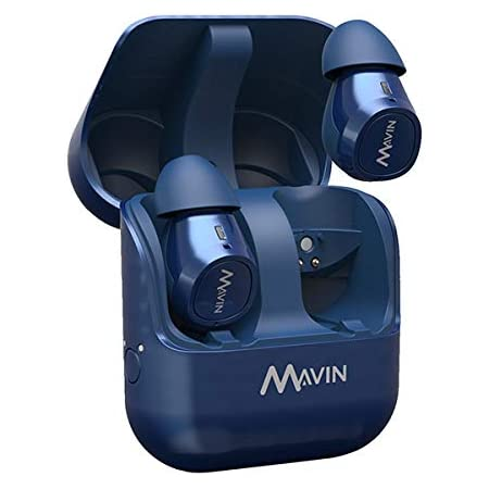 MAVIN 完全ワイヤレスイヤホン Mavin Air-X BLUE