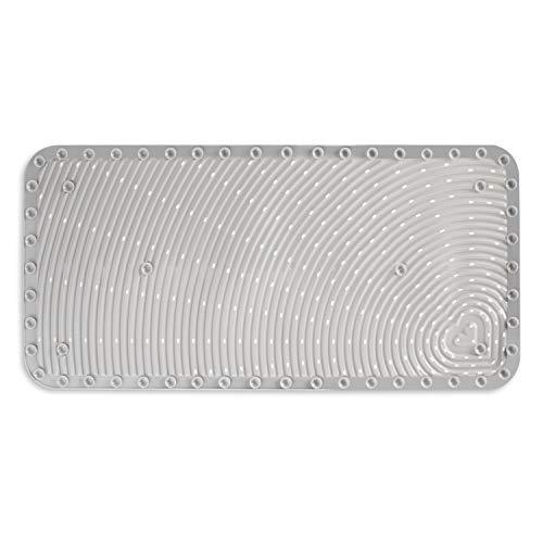 Munchkin Soft Spot Cushioned Bath Mat, Grey