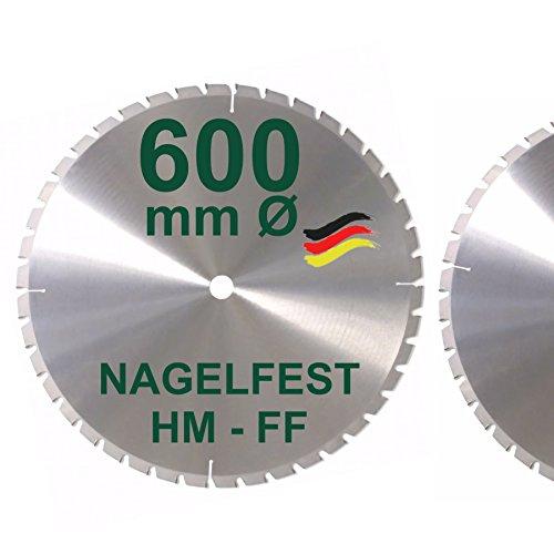 HM Sägeblatt 600 x 30 mm NAGELFEST FF...