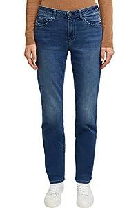 ESPRIT Damen 119EE1B003 Straight Jeans, Blau (Blue Medium Wash 902), W29/L30 (Herstellergröße: 29/30)