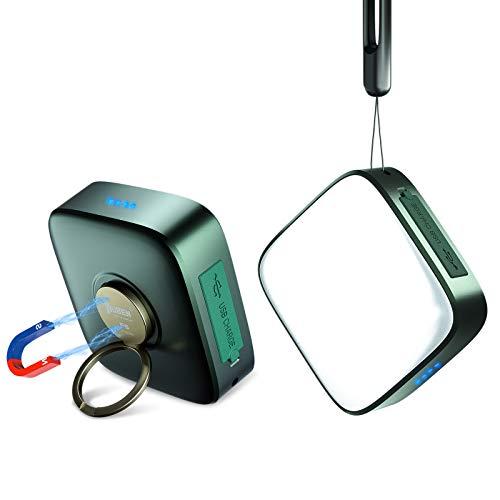 WUBEN F5 Linterna de Cámping Recargable LED USB C, 500 Lumens,Banco de Energía 5200 mAh, Resistente al Agua Luz de Trabajo Portátil, lámpara de camping para Senderismo, Pesca, Emergencia y Más