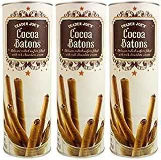 Trader Joe's Petite Chocolate Batons, 5 oz (Pack of 3)