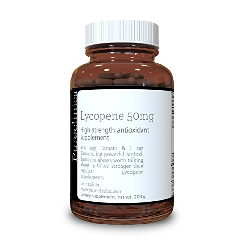 Lycopene 50mg x 180 Tablets (6 Months Supply). 300% Strength of Regular Lycopene Tablets. SKU: LY3