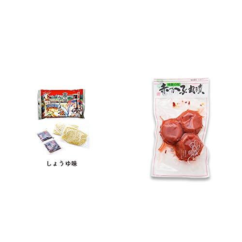 [2点セット] 飛騨高山ラーメン[生麺・スープ付 (しょうゆ味)]・赤かぶ丸漬け(150g)