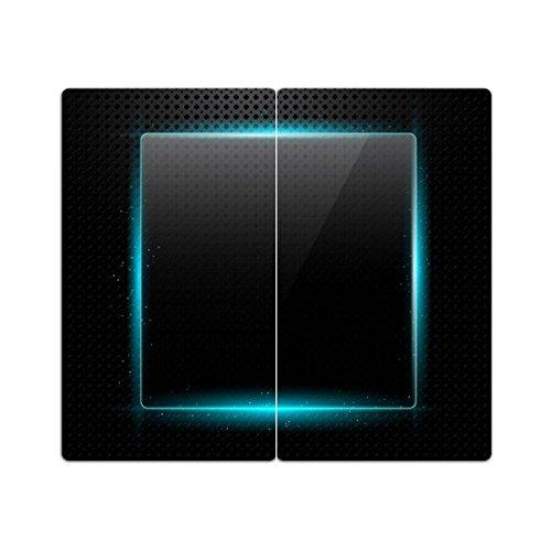 Herdabdeckplatten aus Glas m. Noppen von DekoGlas 2er-Set Herdabdeckung Schneidebrett Spritzschutz Abstrakt
