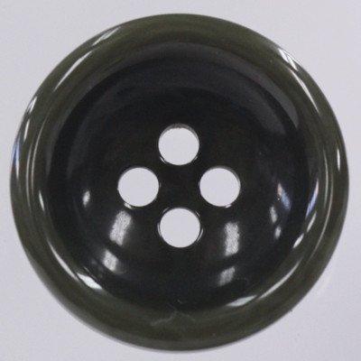 Nut Finished Plastic Button(ナット調プラスチックボタン) VT77-65 1個入 23mm 65緑