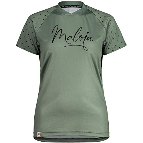 Maloja Argoviam Multi 1/2 T-Shirt, Damen S Zypresse