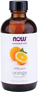 NOW Foods Orange Oil Sweet, 4 ounce (Pack of 2)