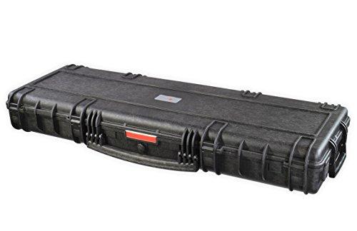 Nomis Military Gun Case 119x40x16cm Waterproof Dust-Tight Black Tough Durable