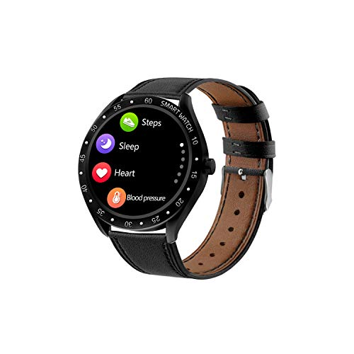 LC.IMEEKE Klassisch Fitness Armband, Smartwatch Wasserdicht IP68, Voller Touchscreen Farbbildschirm Aktivitätstracker Pulsuhren Pulsmesser Schrittzähler Uhr Smart Watch Fitness Uhr