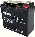 MHB Lead Acid Sealed Rechargeable Battery 12v 20Ah Electric Powered Wheelchair