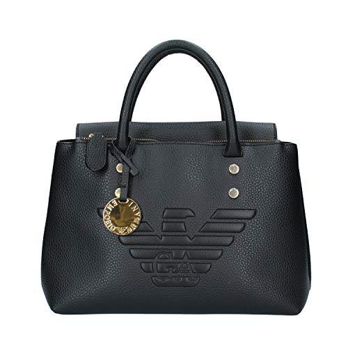 Emporio Armani Eagle Logo Damen Handtasche Schwarz