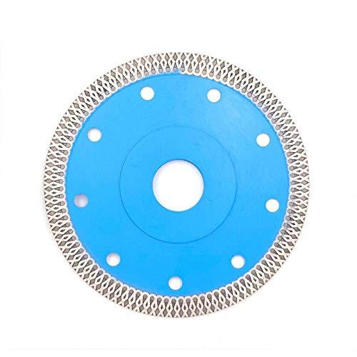 JIAN LIN Molinillo de Polla de Porcelana Delgada Cuchillas de Azulejos de Diamante de Porcelana Cuchillas de Sierra de Piedra caliza Corte de Porcelana azulejo Granito mármol (Size : 125mmx10mm)