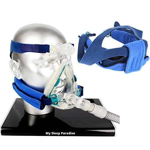 CPAP Headgear Strap Covers Neck Pad Cushion - Fits Most Full Face and Nasal Mask
