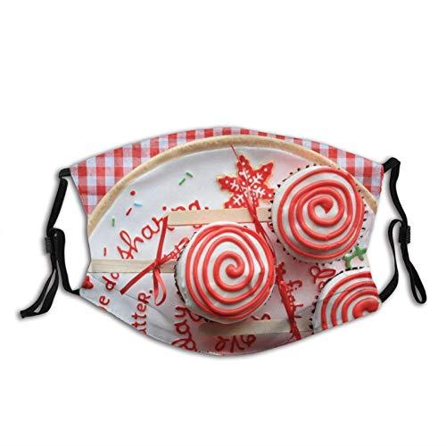 Bequeme Gesichtsmaske hinterlässt heiße Schokolade Heißer Kakao Kakao Marshmallow Marshmallow () Sonnenfeste Mode Bandana Kopfbedeckung zum Angeln