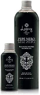 LOGEVY - Bagnodoccia 500 ml - Rende la tua Pelle Morbida e Idratata - Pepe Nero